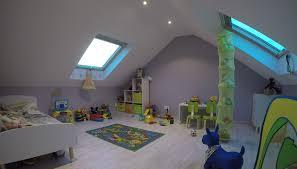 chambre enfant comble aménagement de combles perdus en bretagne