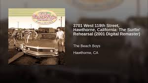 3701 west 119th street hawthorne california the surfin