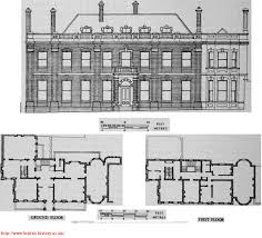 Elevation Floor Plan Palace Green Front Elevation And Plans In 1882 Kensington