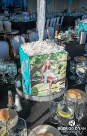 photo centerpieces photo cube centerpieces balloon artistry