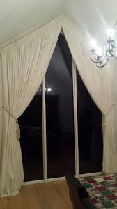 pin by ger u0027s curtains u0026 blinds on curtains on triangular windows
