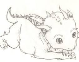 drawn dragon easy draw pencil and in color drawn dragon easy draw