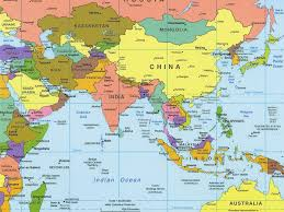 Asia Map Labeled by Download Political Asia Map Major Tourist Attractions Maps