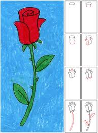 draw your own rose