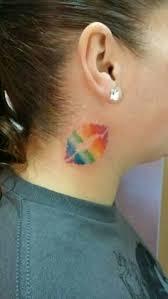 40 best rainbow lips tattoo images on pinterest rainbow lips