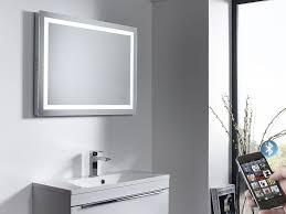 illuminated demister bathroom mirrors beat illuminated bluetooth bathroom mirror with speakers roper