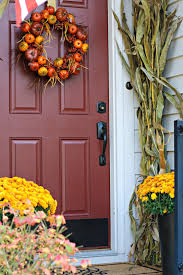 Fall Decorating Ideas For Front Porch - best of fall decorating ideas from thrifty decor