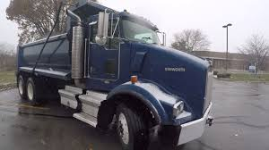 buy used kenworth 2005 kenworth t800 dump truck for sale low miles pre emission