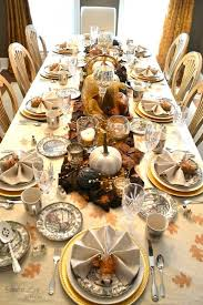 Thanksgiving Dinner Table Decorations 20 Thanksgiving Dining Table Setting Ideas Dining Table Settings