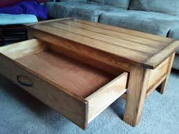 how to build a table with drawers the best coffee table with drawer at ana white pjcanorg home pic for