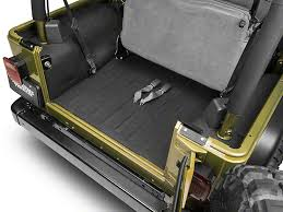 bedrug wrangler bedtred cargo floor liner bttj97r 97 06 wrangler
