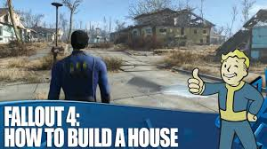 How Much To Build A Garage Apartment by Fallout 4 Gameplay How To Build A House Youtube