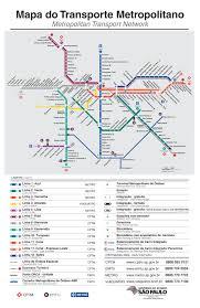 Plano Map Plano Metro Sao Paulo Sao Paulo Subway Infografia Infographic