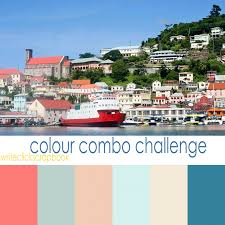 colour combo challenge colours of the caribbean write click
