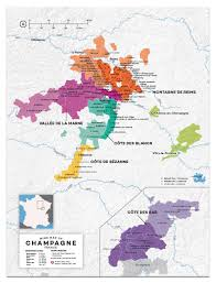 France Regions Map by Champagne Wine Region Map France Wine Posters Wine Folly