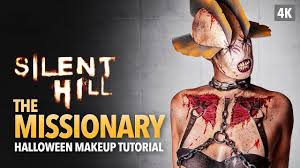 silent hill the missionary halloween makeup tutorial youtube