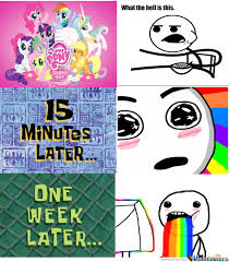 Pony Memes - my little pony reaction by abocks meme center
