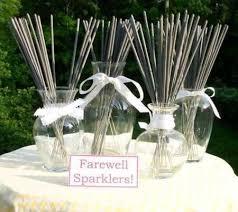 sparklers for wedding wedding sparklers sleeves of 17 inch sparklers
