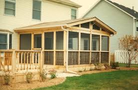 screen porch roof mitercraft construction gallery
