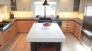 Cement Kitchen Countertops How Much Do Concrete Countertops Cost Angie U0027s List