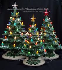 ceramic christmas tree ceramic christmas tree collection fashioned 3 tree ceramic