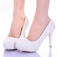 wedding shoes for girl white lace flower formal dress shoes comfortable bridesmaid shoes