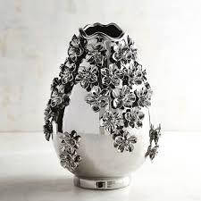 bulk silver vases silver flower vase sheilahight decorations