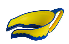 lil rinser splashguard in yellow and blue amazon co uk baby