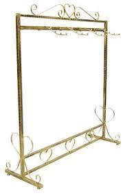 Buy Vintage Style Metal Garment Rack Freestanding Retail Single