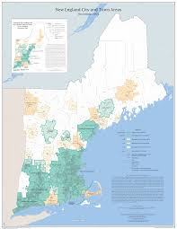 Map Of Maine Towns New England City And Town Areas Nectas Maps Geography U S