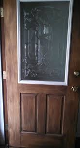 How To Make A Exterior Door How To Make Your Own Decorative Glass Front Door Hometalk