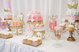 baby shower for a girl thank heaven for baby shower via kara s party ideas