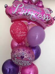 balloon delivery sydney happy birthday princess balloon bouquet gifts in the