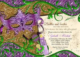 mardi gras baby mardi gras baby shower invitations linksof london us