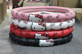 compare prices kitty car steering wheel cover