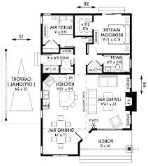Two Bedroom Cabin Floor Plans Home Design Floor Plans 3 Bedroom 2 Bath House With Garage 87