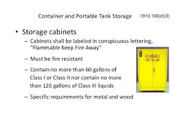 flammable cabinet storage guidelines hazardous substance in our face at work