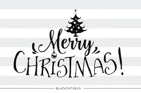merry christmas svg cutting file christmas tree by