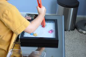 Sand Table Ideas Diy Magnetic Sand Box Activities For Children Clay And Crafts