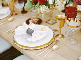wedding plate wedding plate setting ideas