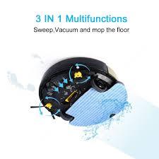 amazon com haier robot vacuum cleaner self charging wet mop