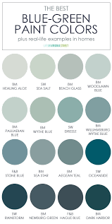 best blue green paint color for kitchen cabinets the best blue green paint colors on virginia