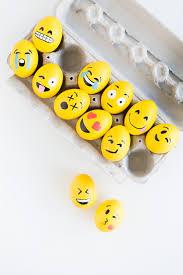 Easter Egg Decorations Easy by Diy Emoji Easter Eggs