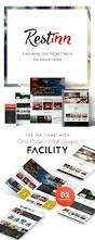 restinn a booking one page theme for resort hotel by webinane