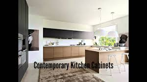 Contemporary Kitchen Furniture Contemporary Kitchen Cabinets Youtube
