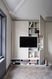 Tv Cabinet Designs For Living Room High Style Low Budget In This 750 Square Foot English Flat