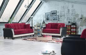 Red Sofa Sets by Modern Fabric And Microfiber Sofas Sofa Sets At Comfyco Com