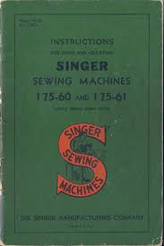 manuals u0026 books sewing 1930 now collectibles