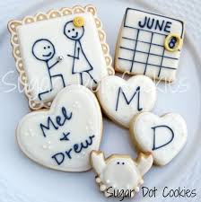 sugar dot cookies engagment sugar cookies with royal icing glaze