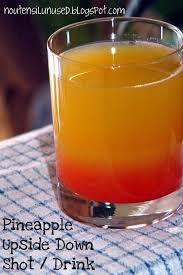 pineapple upside down cake shot drink recipe no utensil unused